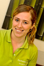 Physiotherapeutin Carina Berns